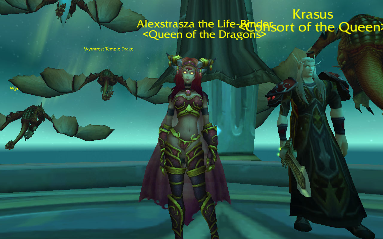 World Of Warcraft Alexstrasza Porn