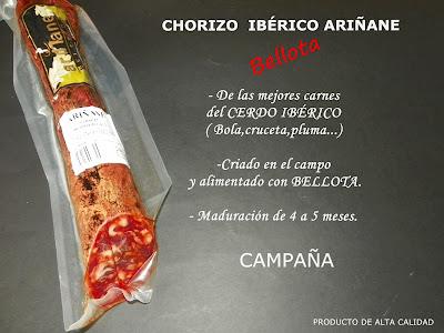 Chorizo Ibérico de Bellota Ariñane