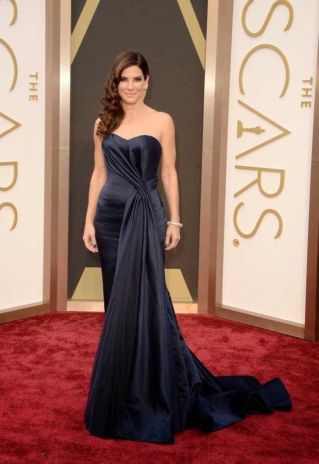 Sandra Bullock in Alexander McQueen at the Oscars