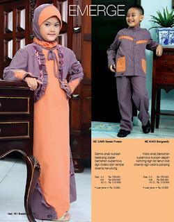 Inilah 10 Desain Baju Muslim Anak Nurrin Model Baru