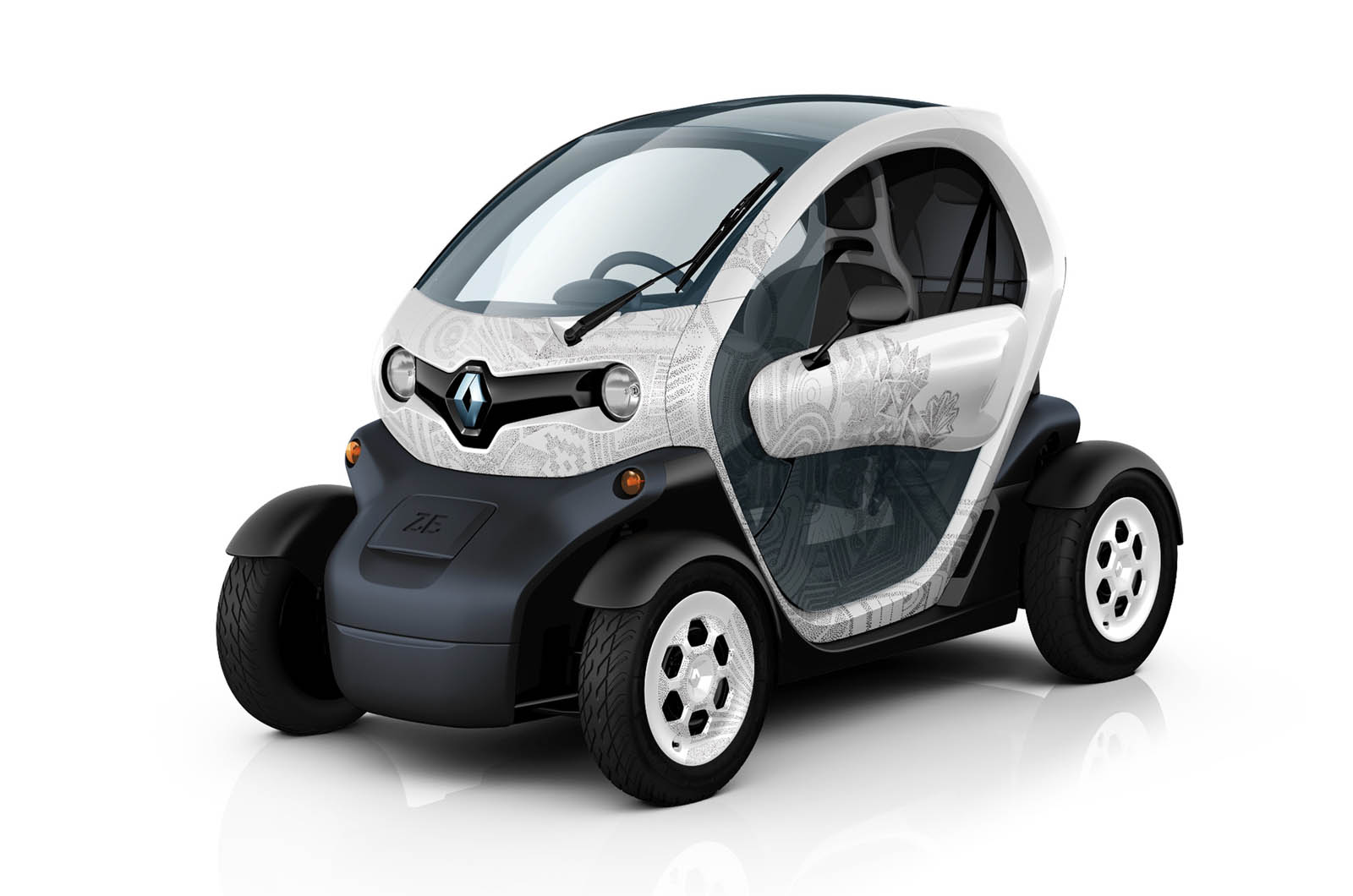 top cars zone renault twizy car picture. Black Bedroom Furniture Sets. Home Design Ideas