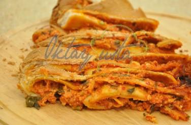 Haşhaşlı Fesleğenli Peynirli Rulo Ekmek Tarifi