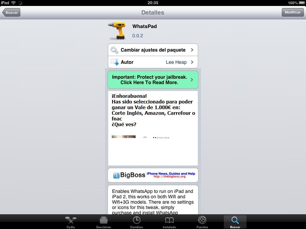 Instalar Whatsapp en iPad o Tablet - Apploide