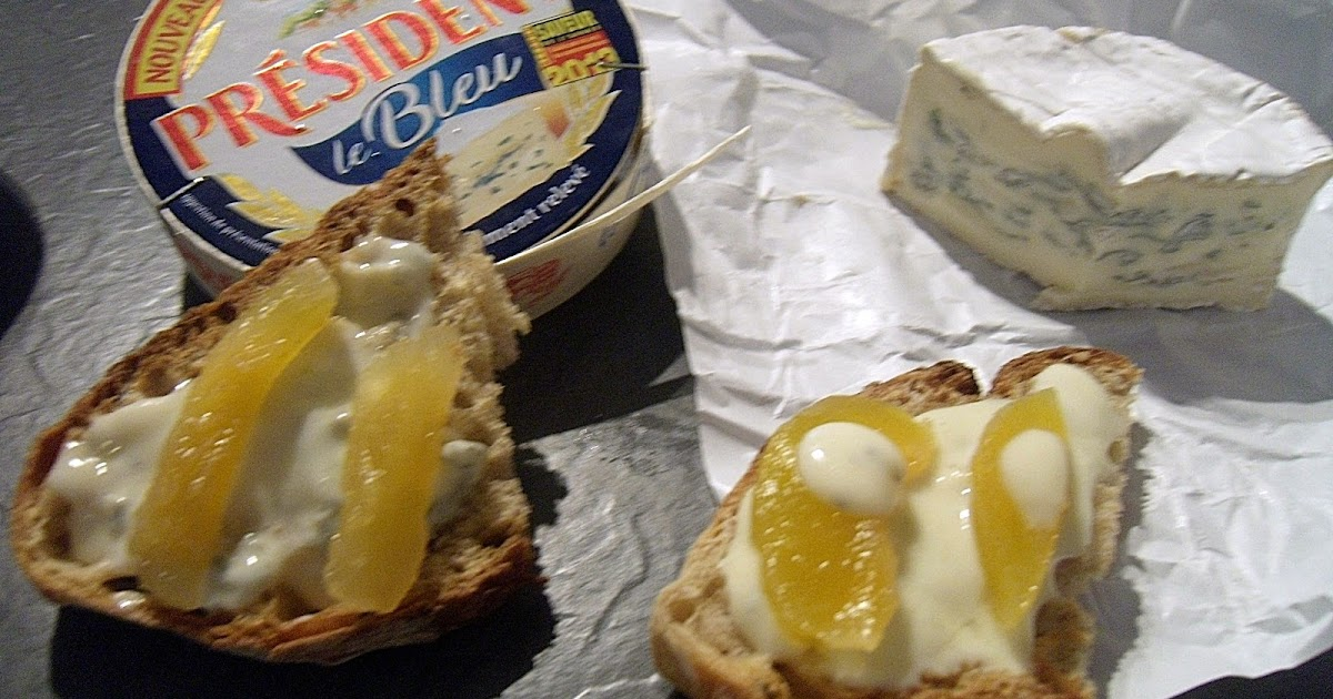 toast bleu poire