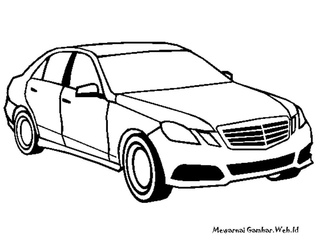 Mewarnai Gambar Mobil Mercedes Benz Facebook Pictures