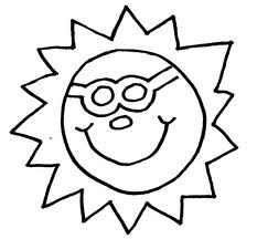 summer coloring pages, free coloring pages