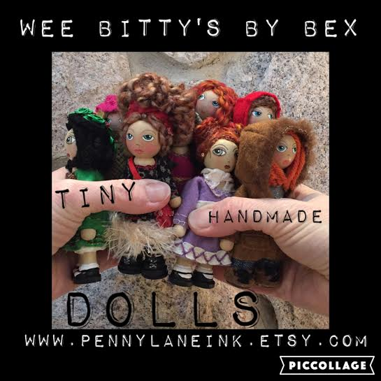 A Growing Collection of Tiny Dolls