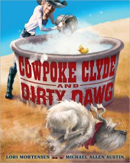 http://www.amazon.com/Cowpoke-Clyde-Dirty-Dawg-Mortensen/dp/0547239939/ref=sr_1_1?ie=UTF8&qid=1386792187&sr=8-1&keywords=cowpoke+clyde+and+dirty+dawg