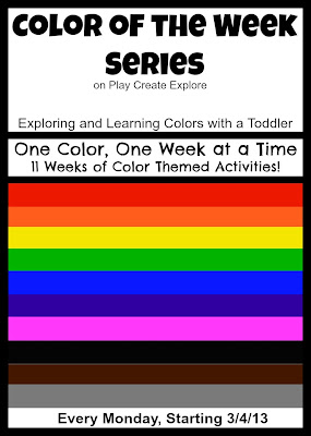 color activities and sensory bins for kids