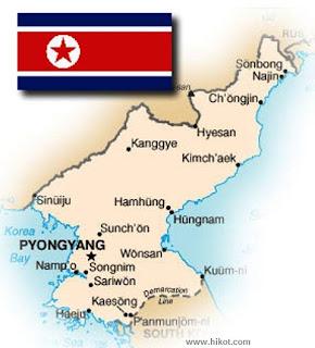 la proxima guerra corea del norte nuclear misiles militar bandera