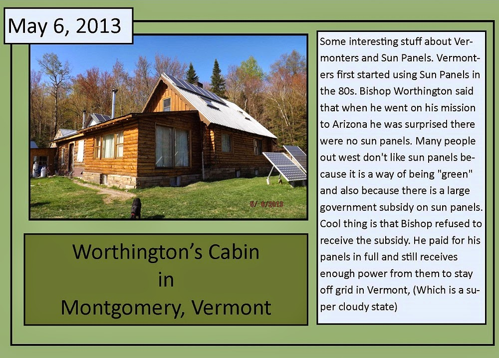 May 6, 2013 Worthington's Cabin