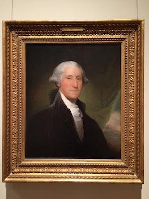 Chuck and Lori's Travel Blog - Another Gilbert Stuart Portrait of George Washington