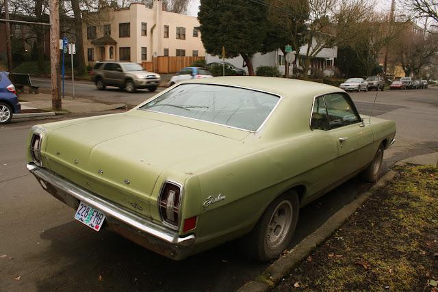 1969 Ford Fairlane Hardtop.