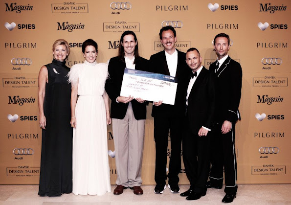 Crown Princess Mary of Denmark attended the awards ceremony of DANISH Design Talent - Magazine Prize 2015 at the National Gallery of Art