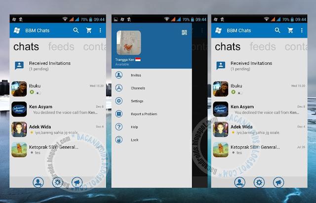 download BBM Mod WindowsPhone WP Theme Terbaru Versi New