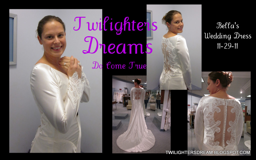 Twilighters Dream: *Bella\'s Wedding Dress* - Dream Come True