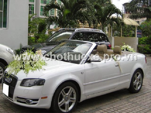 Cho thuê xe Audi A4 mui trần sang trọng, đẳng cấp