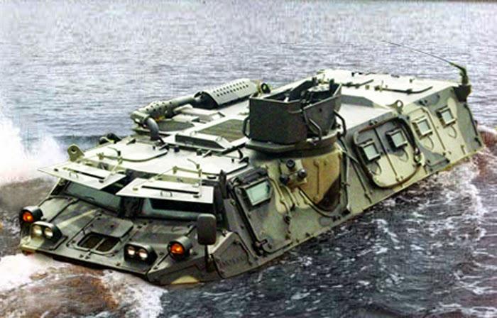 Panser Amphibi PT Pindad