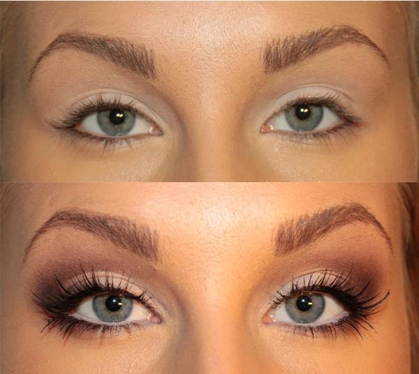Makeup eyes bigger