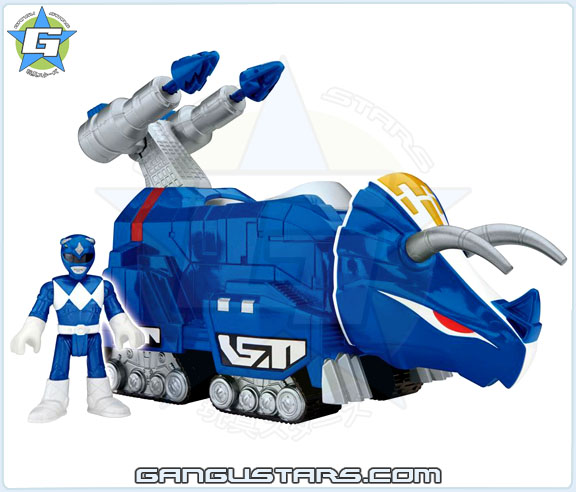Imaginext Mighty Morphin Power Rangers Zords Assortment Blue Ranger DinoZord イマジネックスト ジュウレンジャー 戦隊