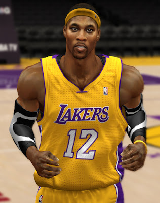 NBA 2K13 Dwight Howard Cyberface Mods