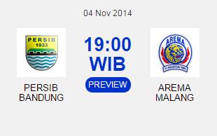 Persib vs Arema - Semifinal ISL 2014