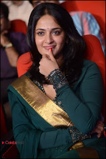 Anushka Shetty Pictures in Salwar Kameez at Yamudu 2 (Singam 2) Movie Audio Launch  0010