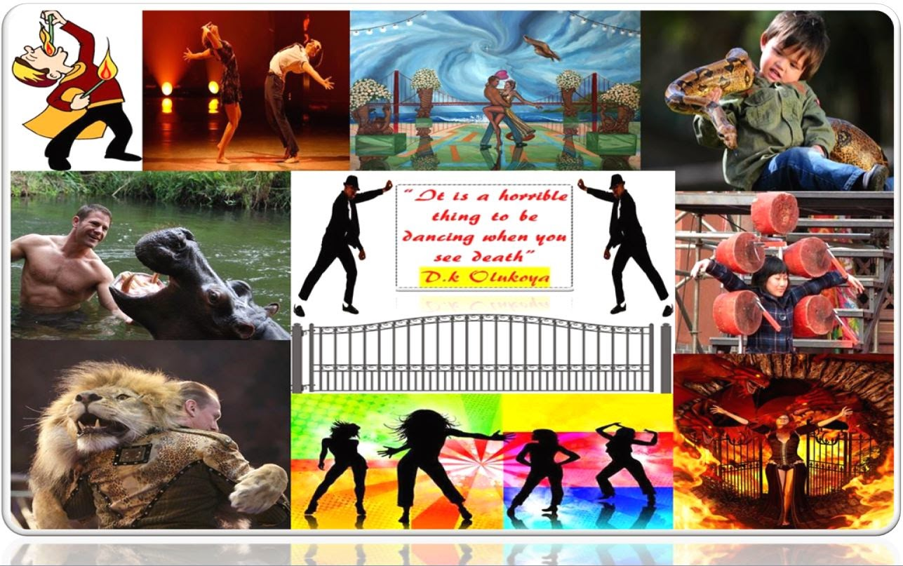 Sermon Jotter: Word: Dancers at the Gate of Death