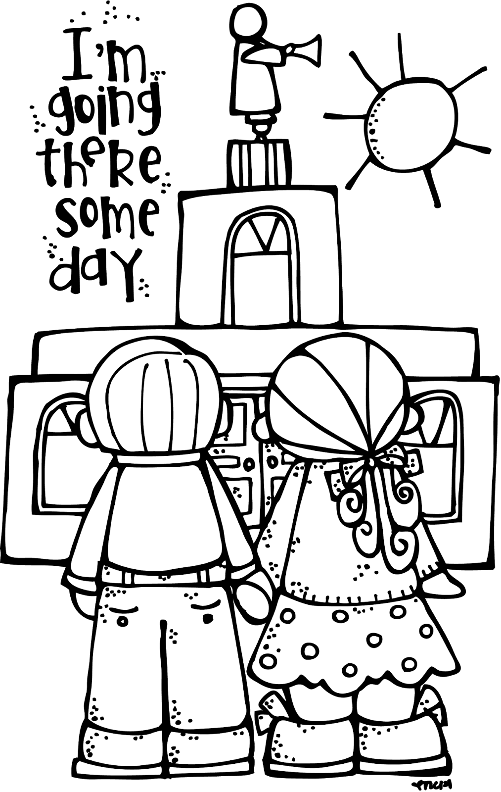 Melonheadz lds illustrating april 2014 for Lds coloring page