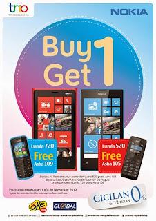 Beli Nokia Lumia gratis ponsel murah