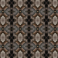Turkey Feathers Pattern