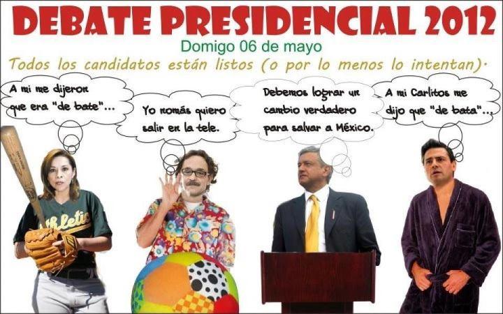 AQUÍ ESTÁN LAS IMÁGENES DE COTORREO DESPUÉS DEL DEBATE  CLIC