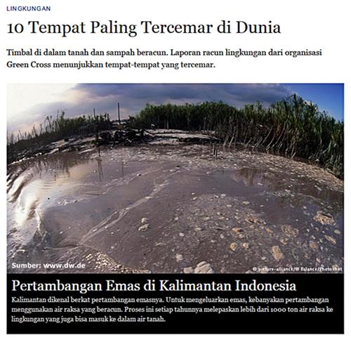 Tempat Paling Tercemar di Dunia