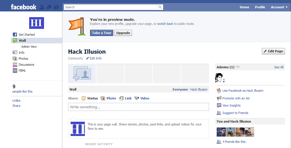 Facebook+page+layout