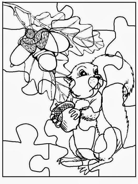 Para colorear rompecabezas para pintar y armar for Puzzle a colorier