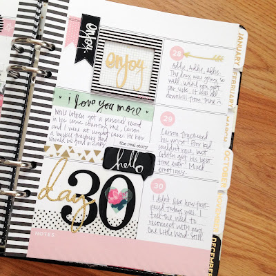 SRM Stickers Blog - Planner Pages by Tessa Buys - #planner #DIY #stickers #stitches #numbers #faith #love #sentiments