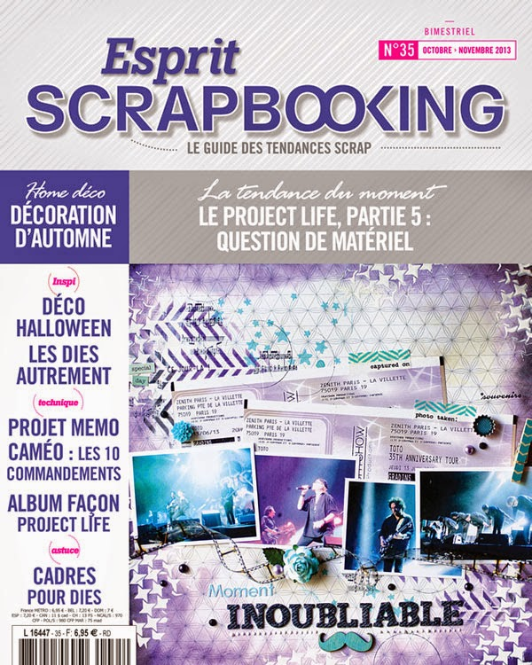 Publication Esprit Scrapbooking n°35