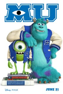 film : Monster University