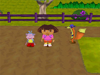 Download Dora the Explorer Barnyard Buddies games ps1 iso for pc full version free kuya028