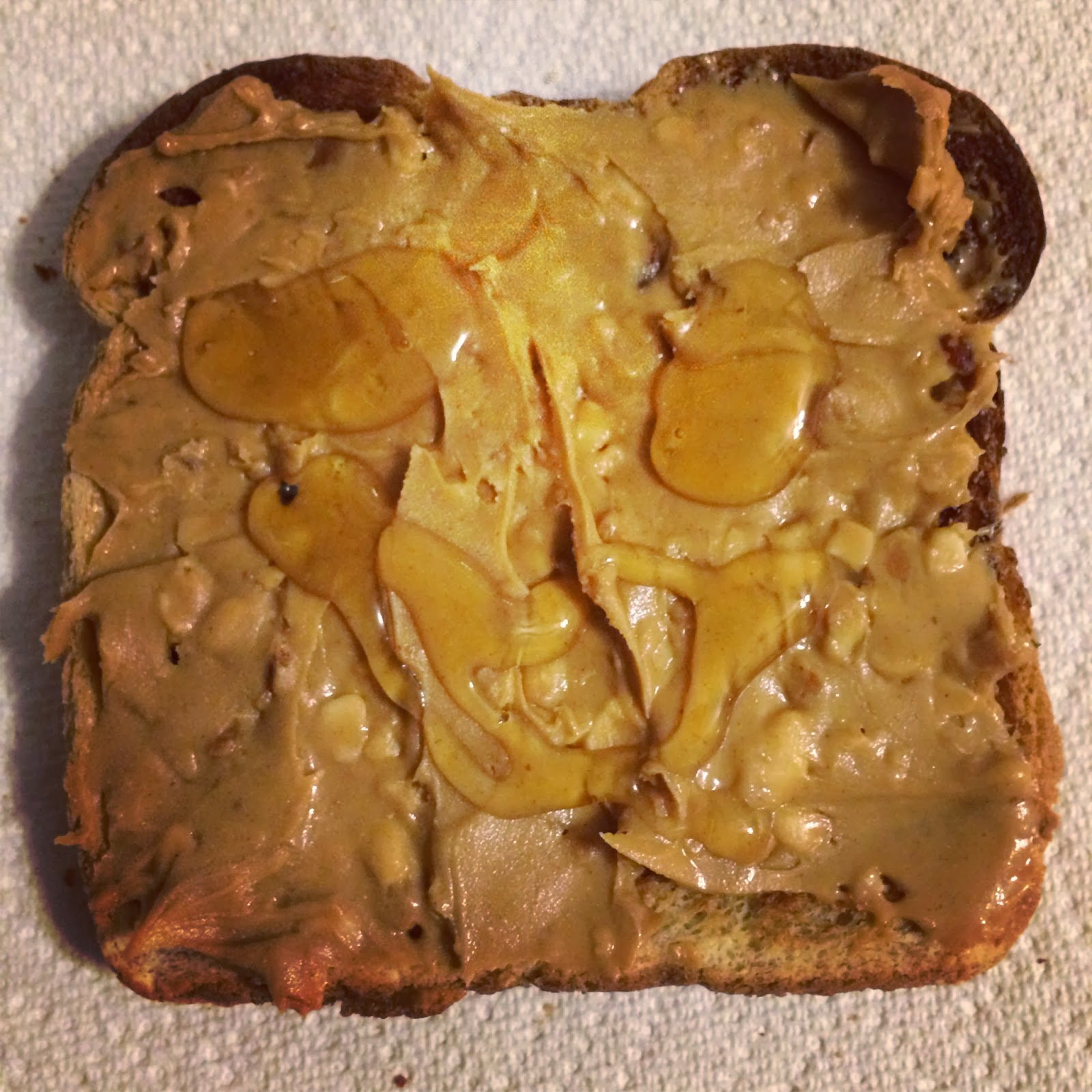 Little Cook in the Big City: Peanut Butter and Honey Toast