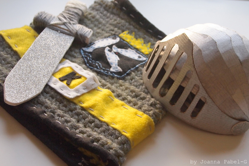 DIY Little Knight Outfit