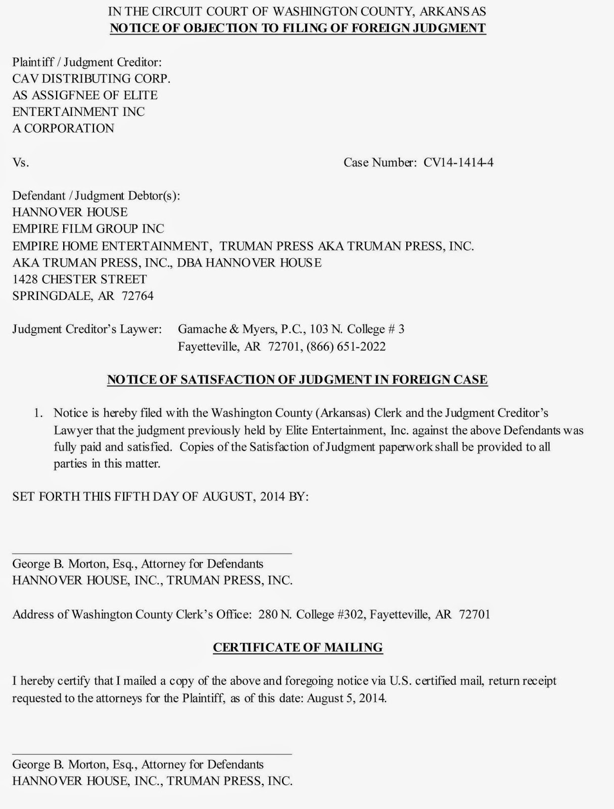 Hhse investor relations false judgment to be rescinded kristyandbryce Images