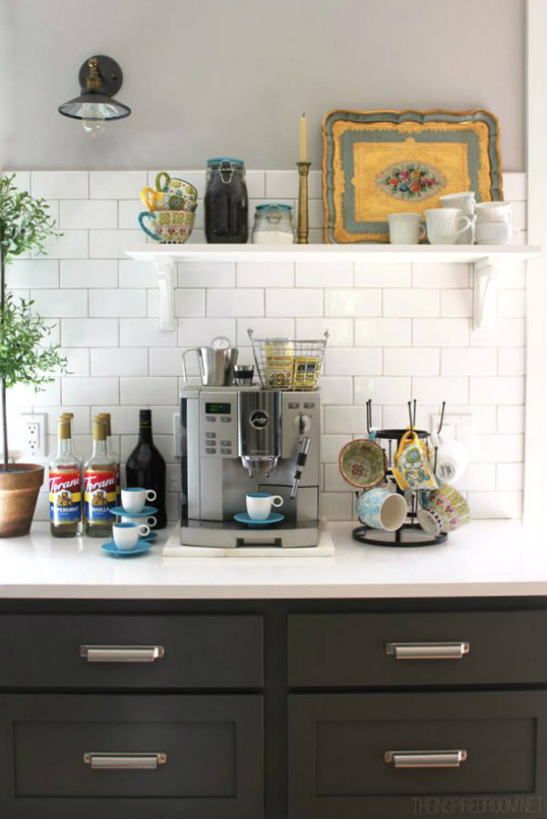 Ciao newport beach how to set up a coffee station for How to set up a coffee station