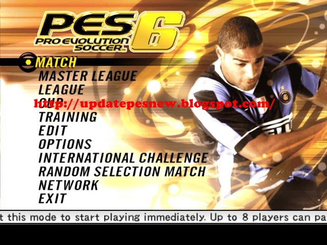 Download Game PES 6 Single Link For PC Terbaru