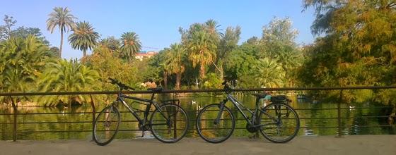 bicicletas en el parque de la Ciudadela. Oct. 2013