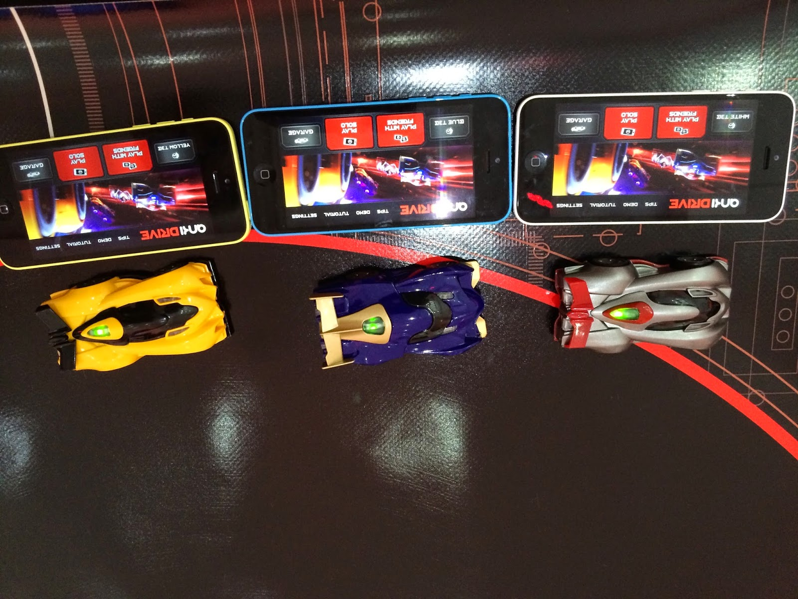 ankiDRIVE cars and iPhone 5c madmumof7.com
