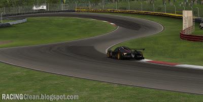 Mid-Ohio Sports Car Course - Lexington Ohio - Coming to RaceRoom Racing Experience (Pagani Zonda enters the chicane)