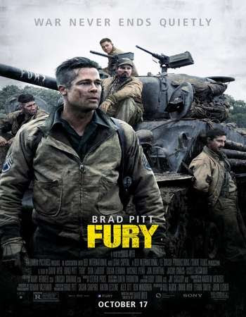 Poster Of Fury In Dual Audio Hindi English 300MB Compressed Small Size Pc Movie Free Download Only At worldfree4u.com