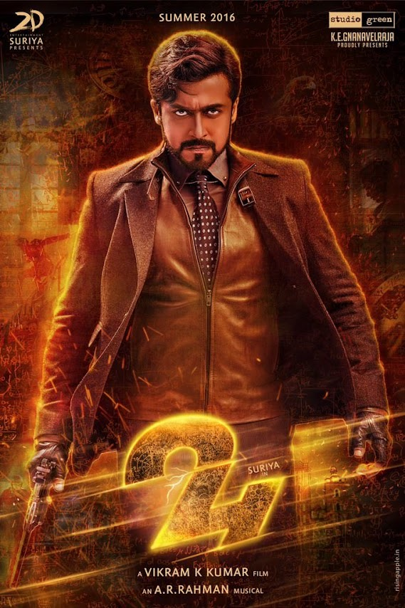 First Look Posters of Suriya from 24 as a fierce mafia don