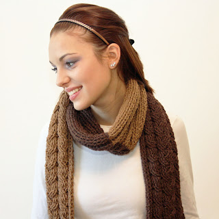 Easy Cowl infinity scarf Perfect Crochet Gift Idea (Free